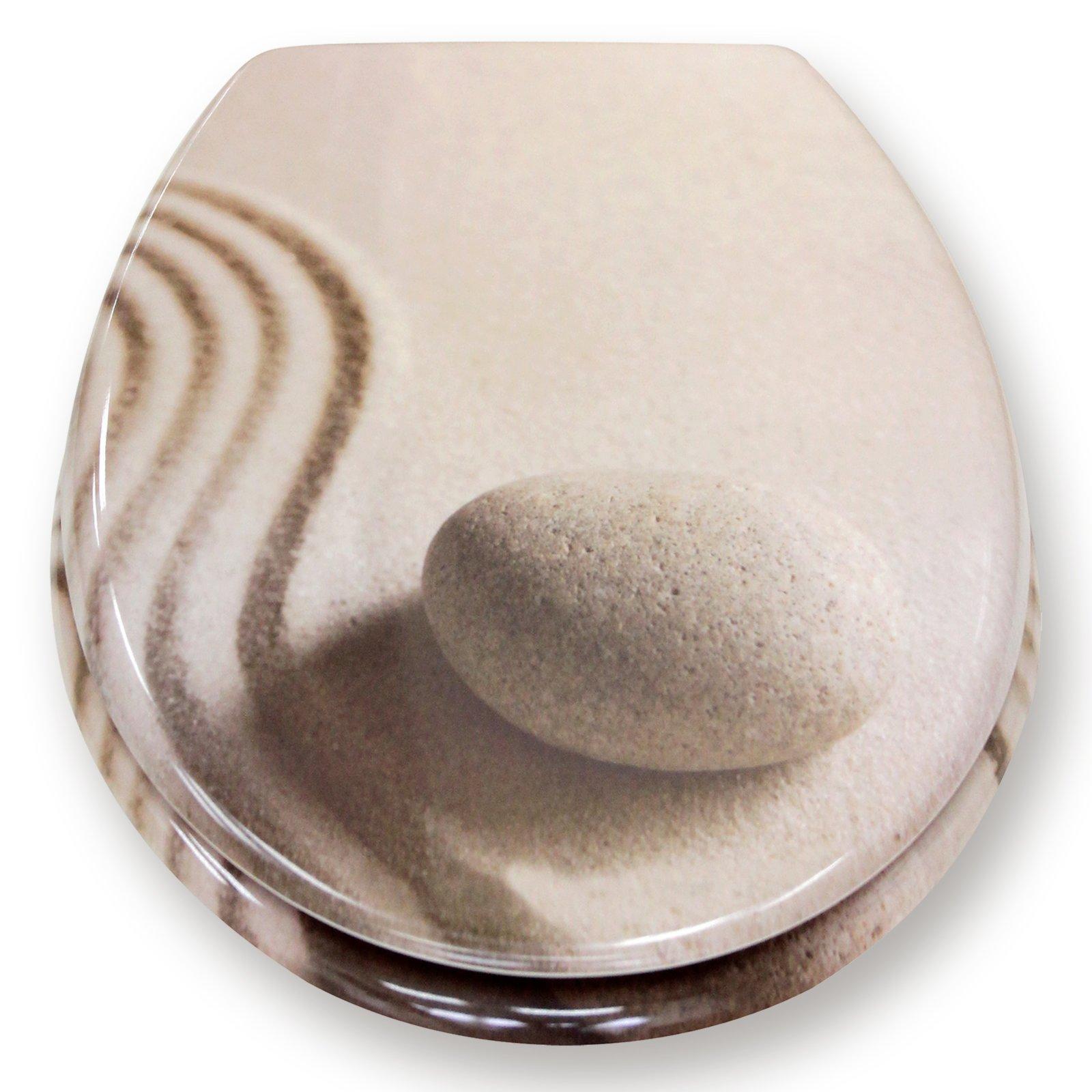 roller wc sitz duroplast sand kunststoff ebay. Black Bedroom Furniture Sets. Home Design Ideas