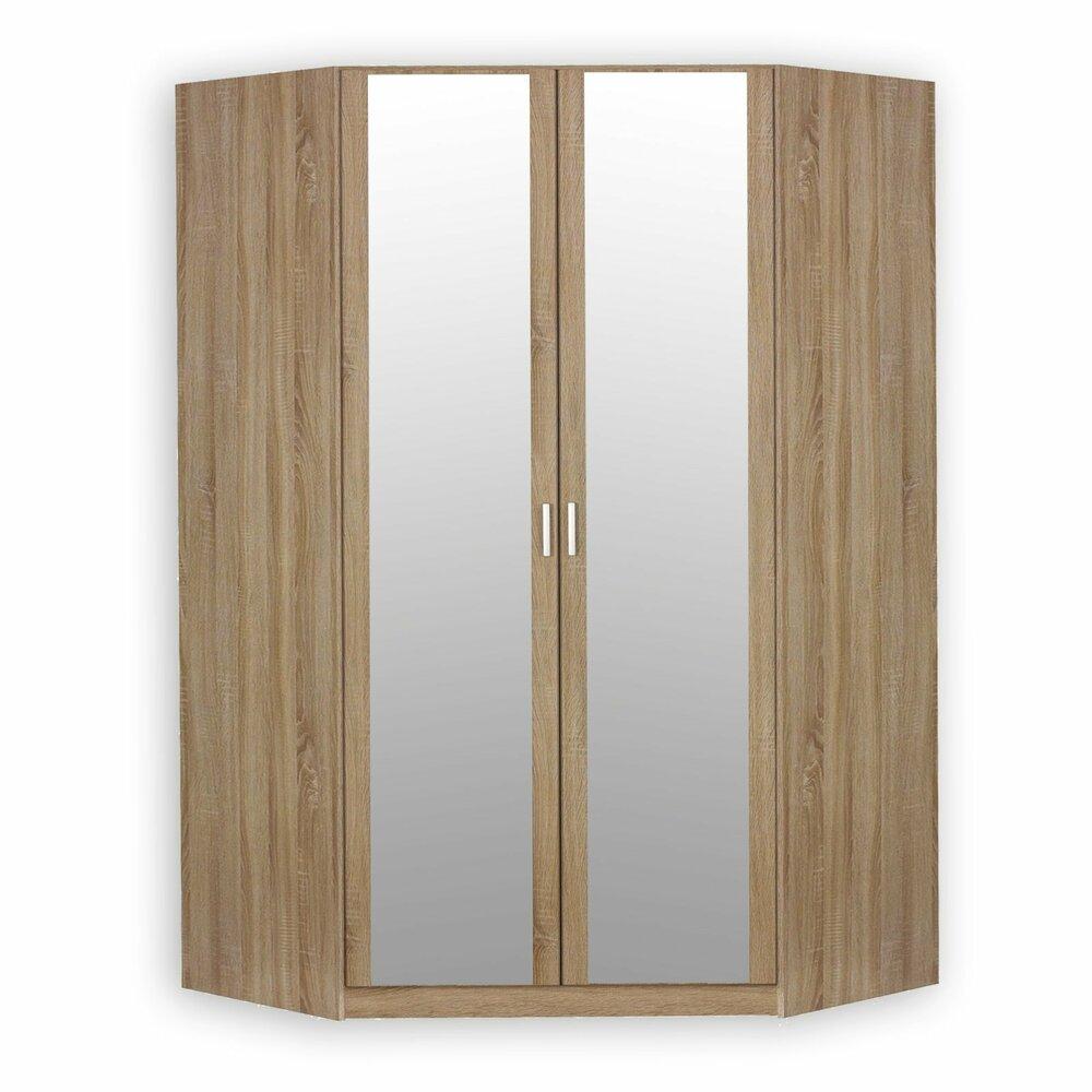 eckkleiderschrank bremen sonoma eiche 2 t rig. Black Bedroom Furniture Sets. Home Design Ideas