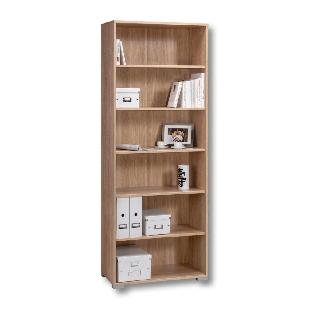 aktenregal system sonoma eiche standregale regale m bel roller m belhaus. Black Bedroom Furniture Sets. Home Design Ideas