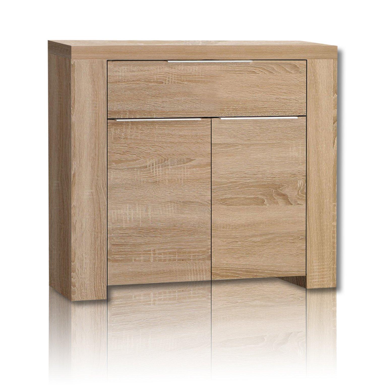 kommode calpe sonoma eiche 104 cm kommoden sideboards m bel roller m belhaus. Black Bedroom Furniture Sets. Home Design Ideas