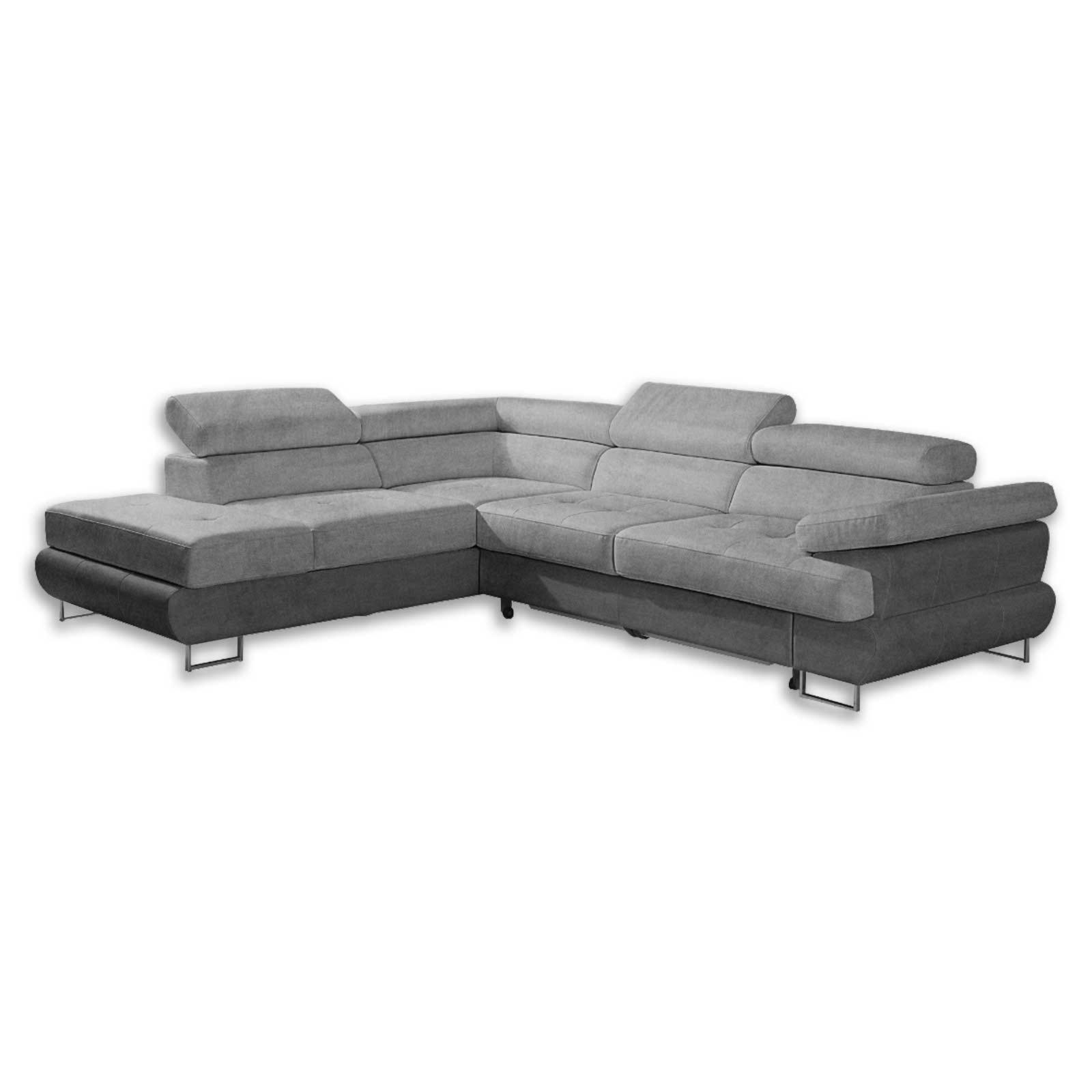 ecksofa hellgrau mit funktion ottomane links ecksofas l form sofas couches m bel. Black Bedroom Furniture Sets. Home Design Ideas