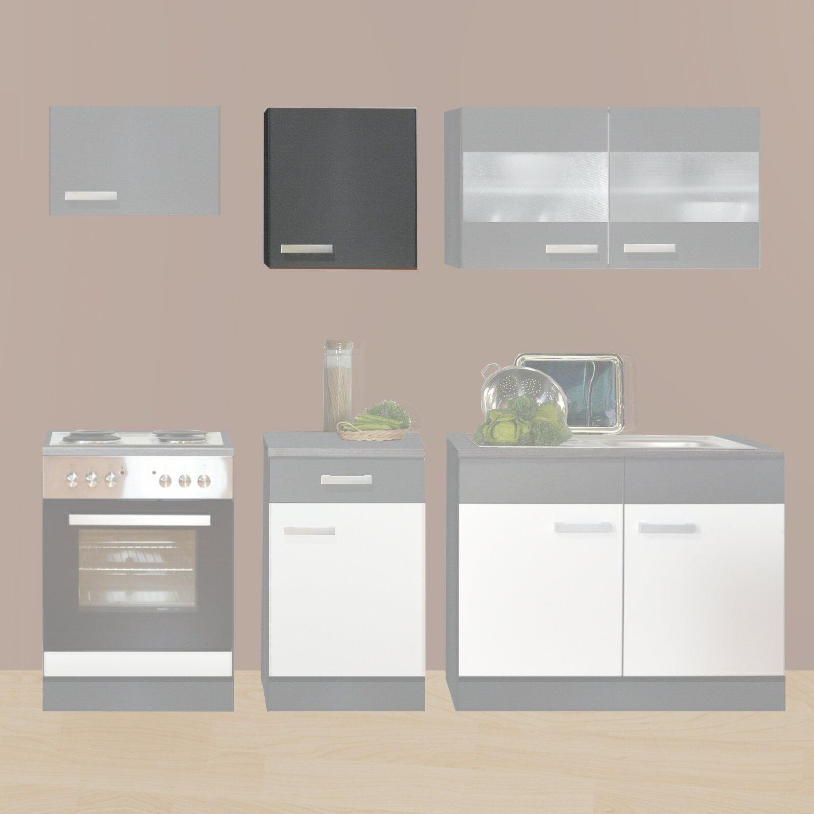 h ngeschrank greta graphit 50x64 cm k che greta schrankserien k chenschr nke m bel. Black Bedroom Furniture Sets. Home Design Ideas