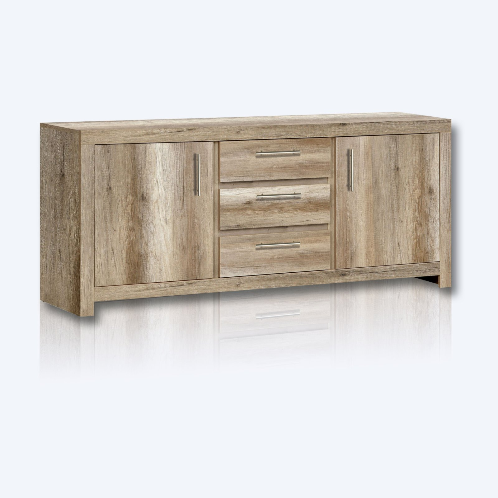 kommode imola eiche antik 166 cm breite kommoden sideboards m bel roller m belhaus. Black Bedroom Furniture Sets. Home Design Ideas