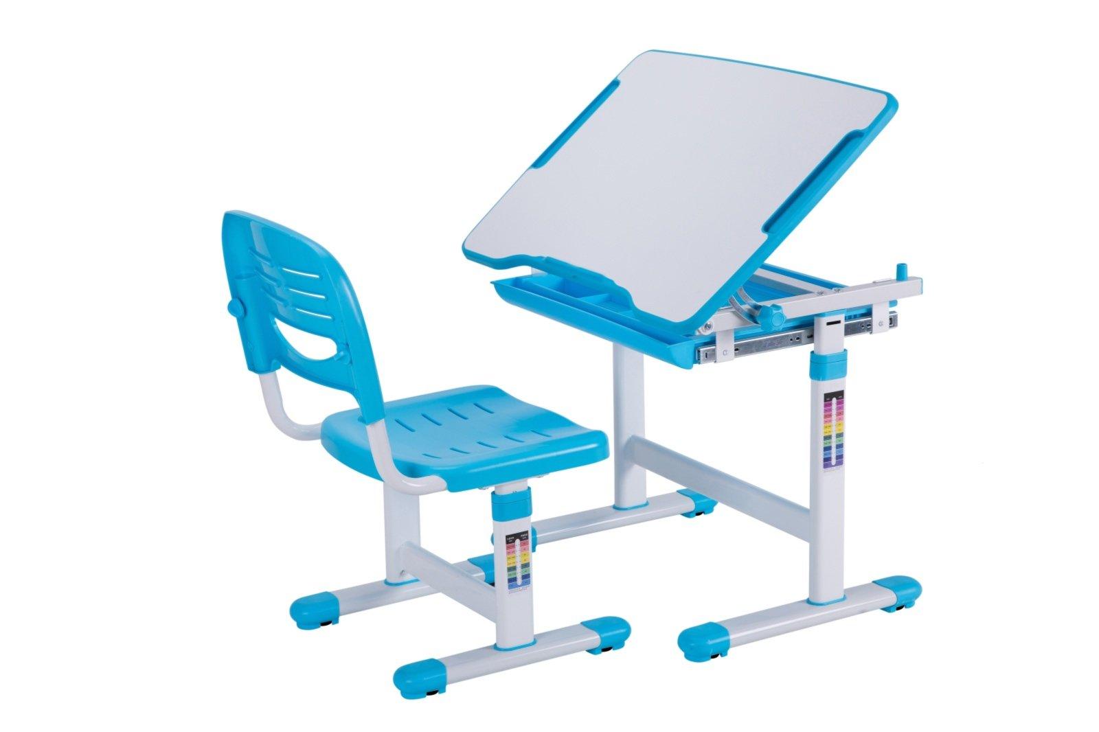 Kinderschreibtisch comfortline blau mit stuhl kinderschreibtische schreibtische m bel - Roller kinderschreibtisch ...