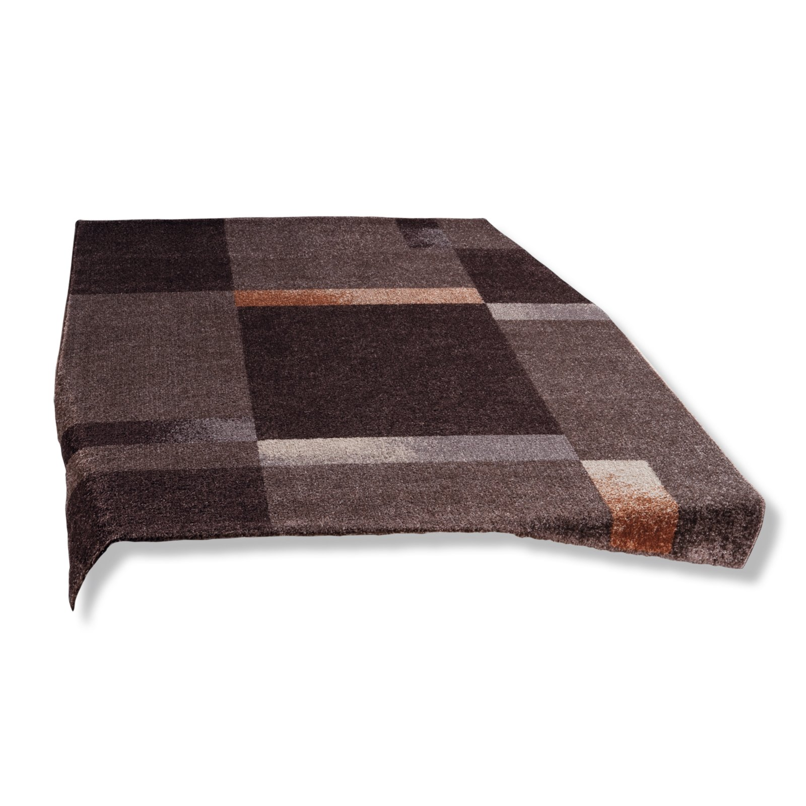 br cke vera braun 80x150 cm gemusterte teppiche. Black Bedroom Furniture Sets. Home Design Ideas