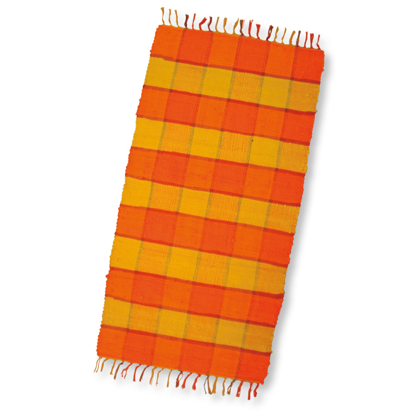 Teppich CALIFORNIEN - 65x130 cm - orange