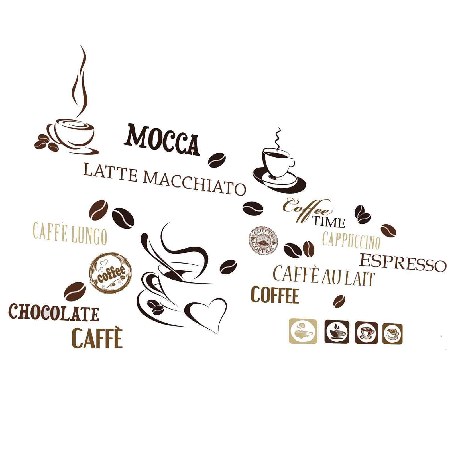 Wandtattoo Kaffee Selbstklebend Online Bei Roller Kaufen