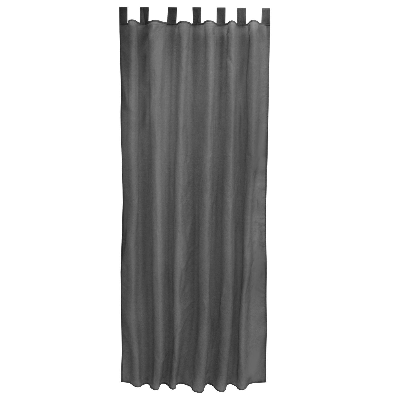 Schlaufenschal ALSTER - anthrazit - 140x235 cm