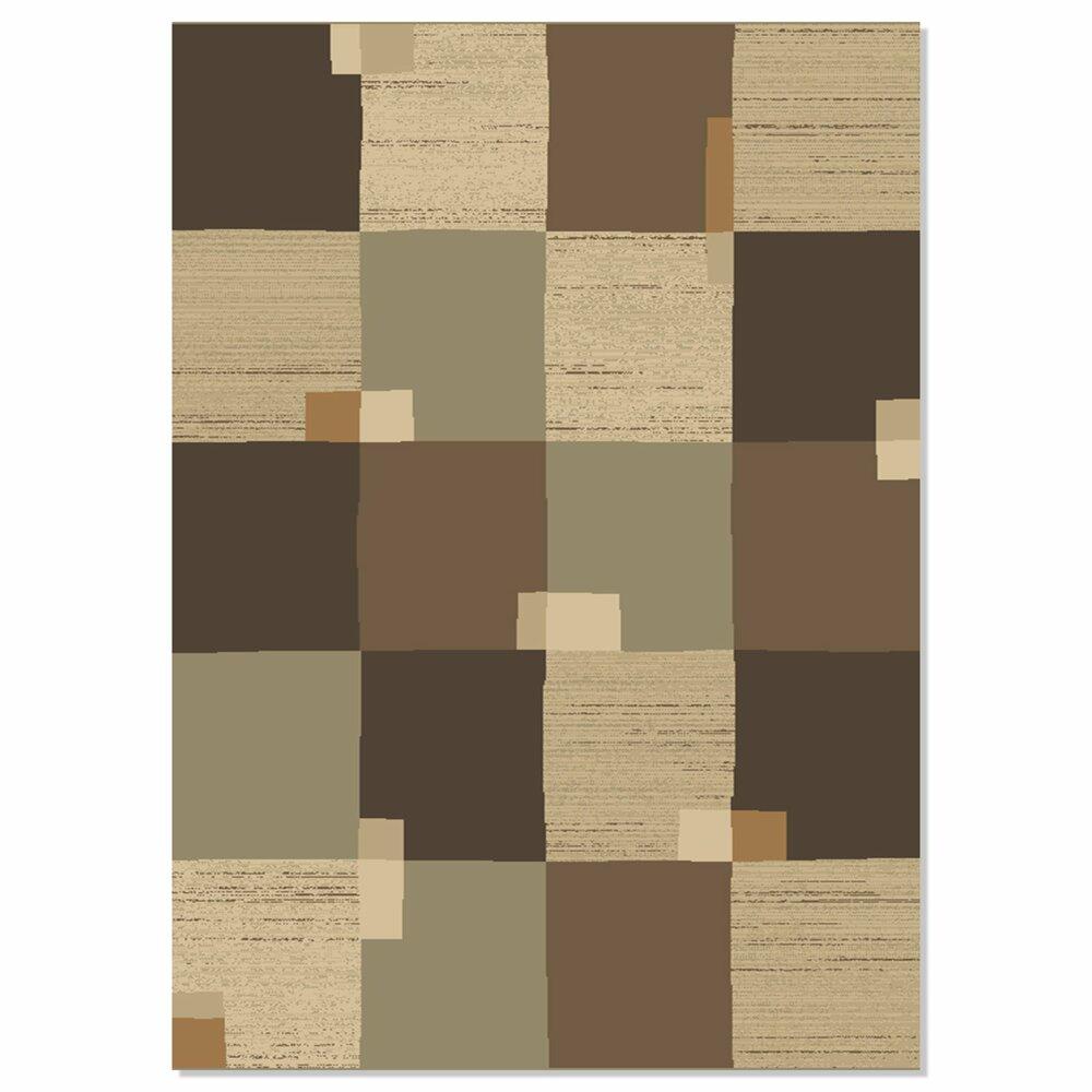 Teppich VERA - braun - 160x230 cm | Gemusterte Teppiche ...