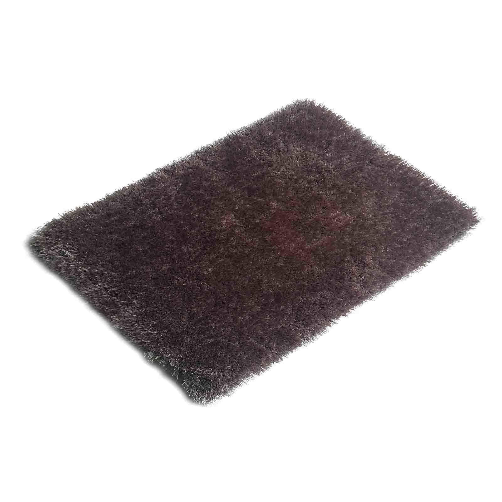 hochflor teppich frieda silber 160x230 cm hochflor shaggyteppiche teppiche l ufer. Black Bedroom Furniture Sets. Home Design Ideas