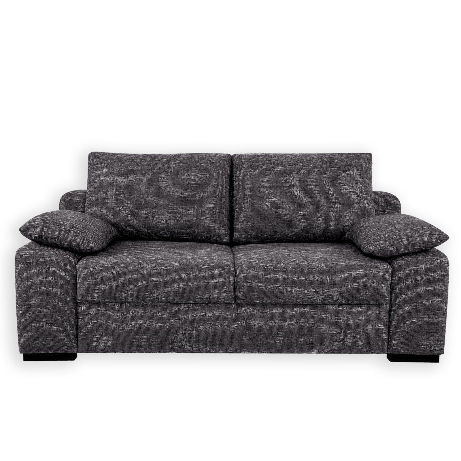 schlafsofa stein dauerschl fer inklusive kissen. Black Bedroom Furniture Sets. Home Design Ideas