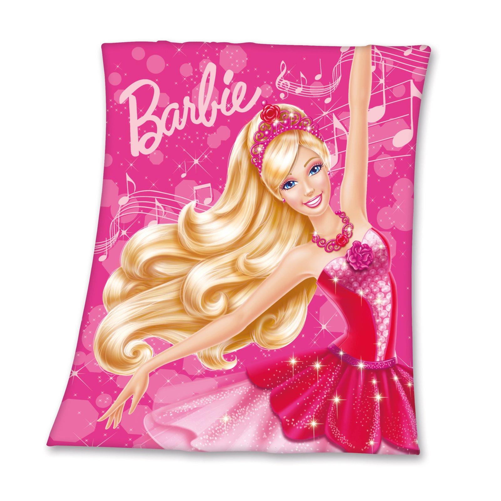 Fleecedecke - Barbie - 125x150 cm