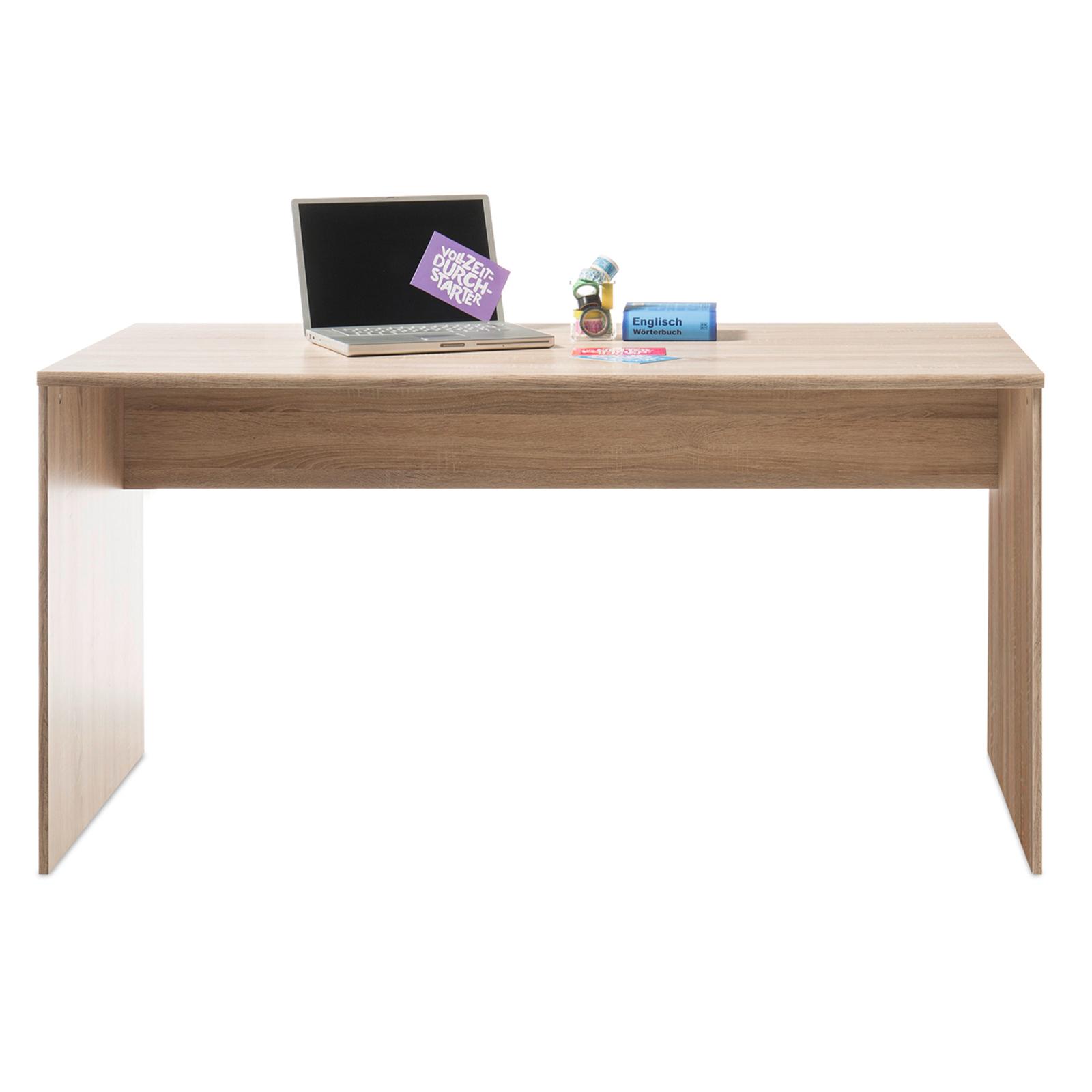 Schreibtisch Sonoma Eiche 150 Cm Breit Online Bei Roller Kaufen
