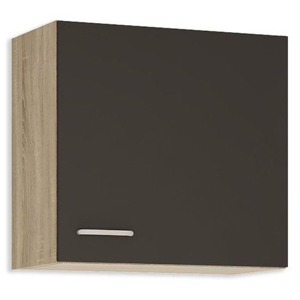h ngeschrank fox anthrazit sonoma eiche 60 cm breit k che fox schrankserien. Black Bedroom Furniture Sets. Home Design Ideas