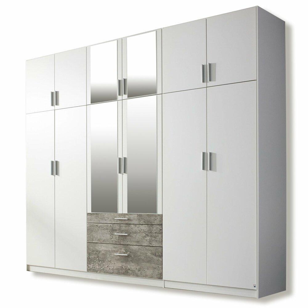dreht renschrank hildesheim extra alpinwei 271 cm. Black Bedroom Furniture Sets. Home Design Ideas