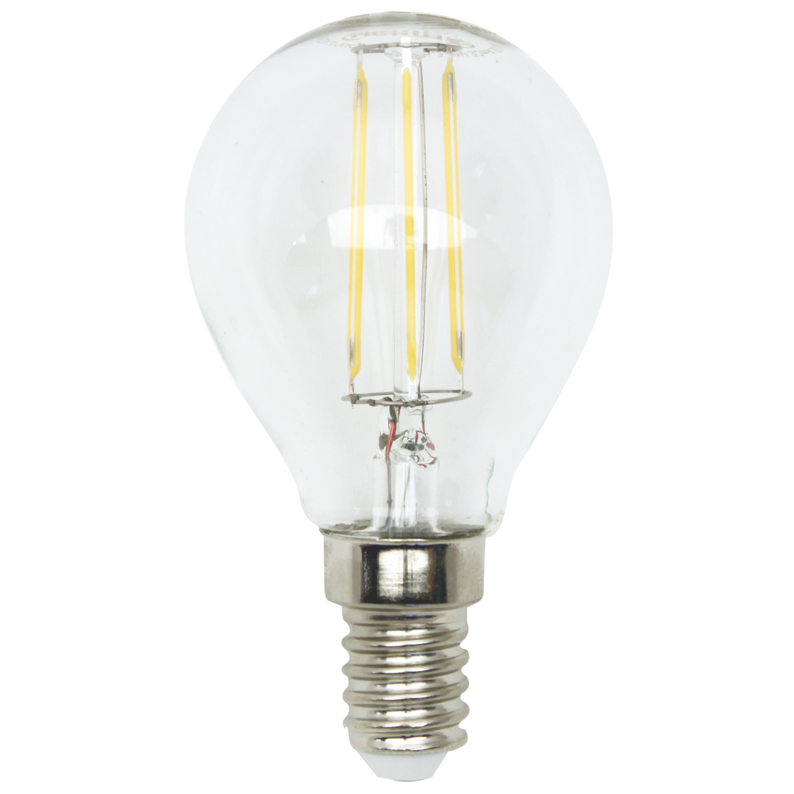 LED-Tropfenlampe Filament - E14 - 4 Watt - warmweiß