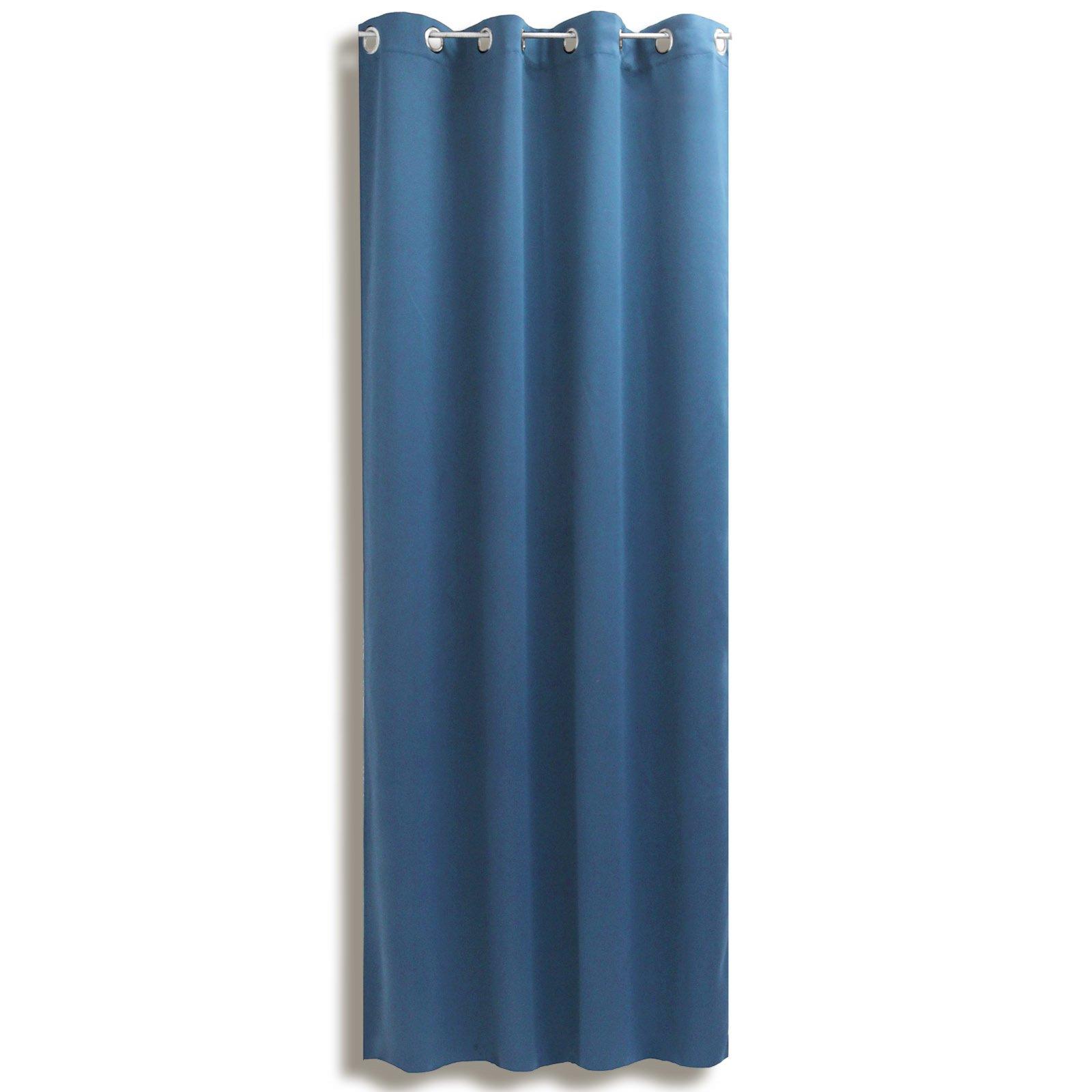 Verdunklungsvorhang LANOS - petrol - 140x175 cm
