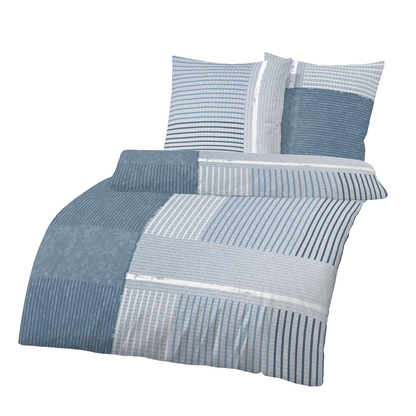 biber bettw sche jeans blau pigmente 155x220 cm bettw sche bettw sche bettlaken. Black Bedroom Furniture Sets. Home Design Ideas