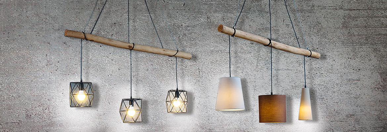verstellbare Design LED Hänge Lampen Wohn Schlaf Ess Zimmer Pendel Beleuchtung