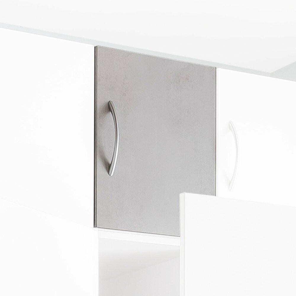 aufsatz multiraumkonzept wei betonoptik 40x40x40 cm schranksystem multiraumkonzept. Black Bedroom Furniture Sets. Home Design Ideas