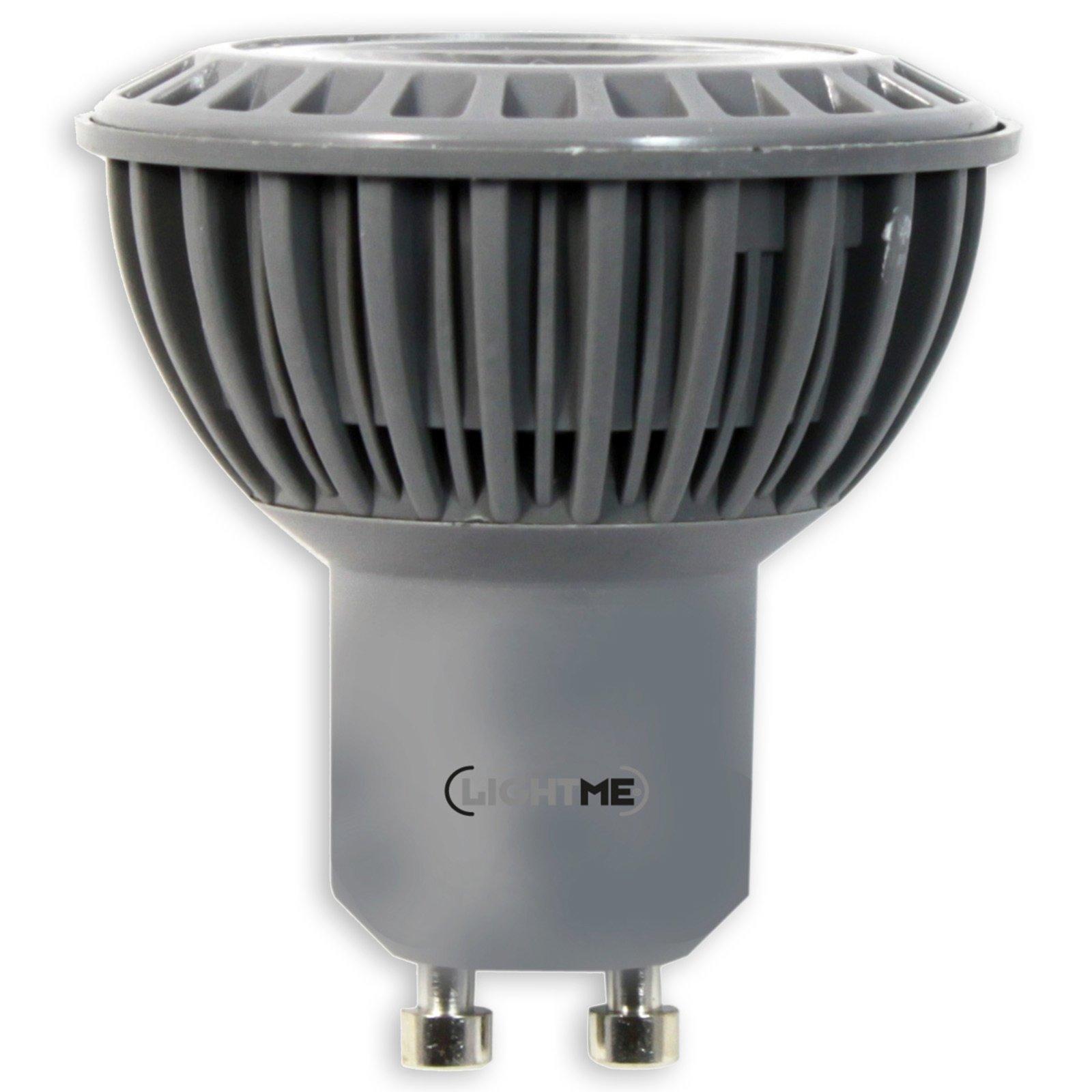 led reflektor lightme gu10 4 watt warmwei led. Black Bedroom Furniture Sets. Home Design Ideas