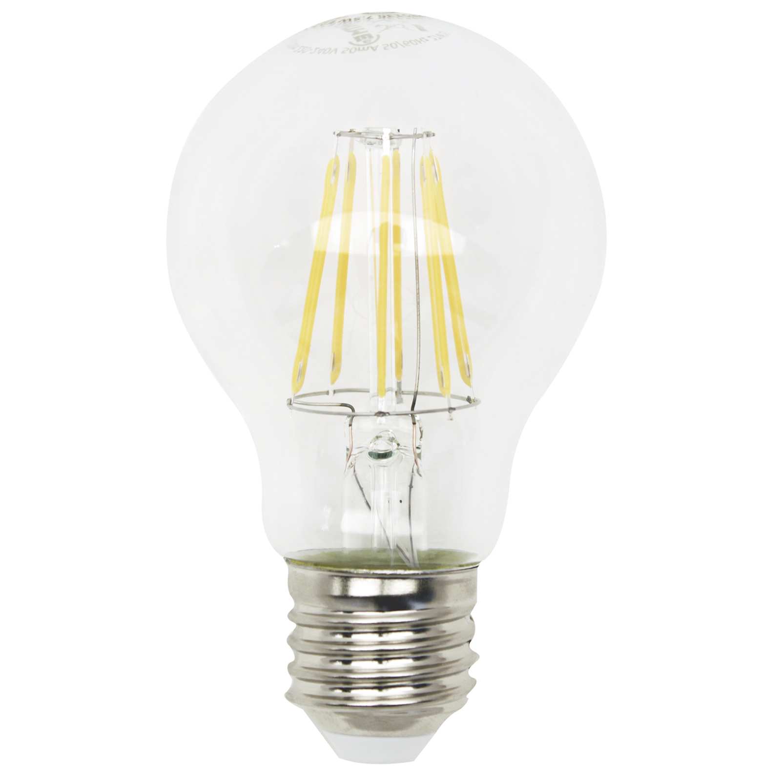 LED-Glühlampe Filament - E27 - 7,5 Watt - warmweiß