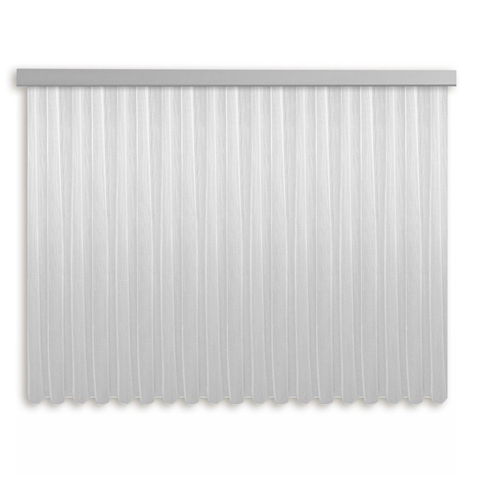 Gardine MILANO - Fertigstore - weiß - 450x145 cm