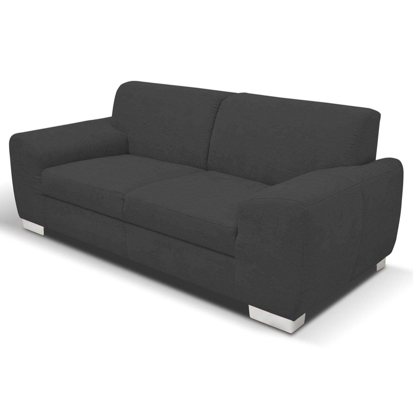 Entzückend Couch Dunkelgrau Galerie Von Sofa - - 2-sitzer