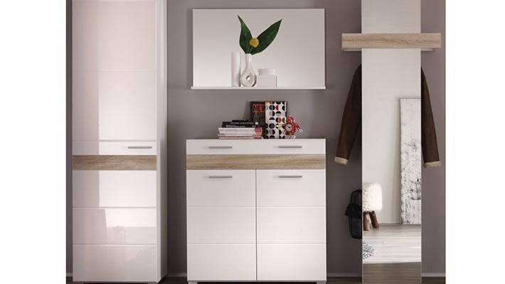 garderobe mezzo garderobenprogramme flur diele wohnbereiche roller m belhaus. Black Bedroom Furniture Sets. Home Design Ideas