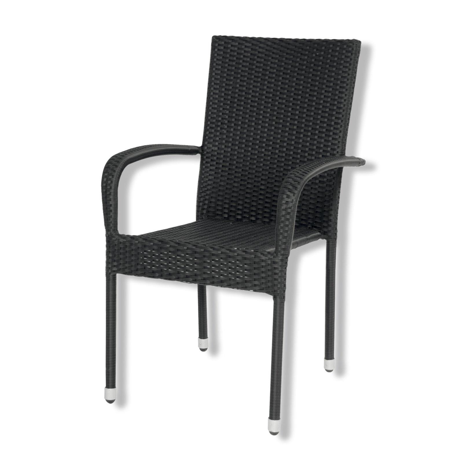 gartenstuhl schwarz stapelstuhl gartenst hle. Black Bedroom Furniture Sets. Home Design Ideas