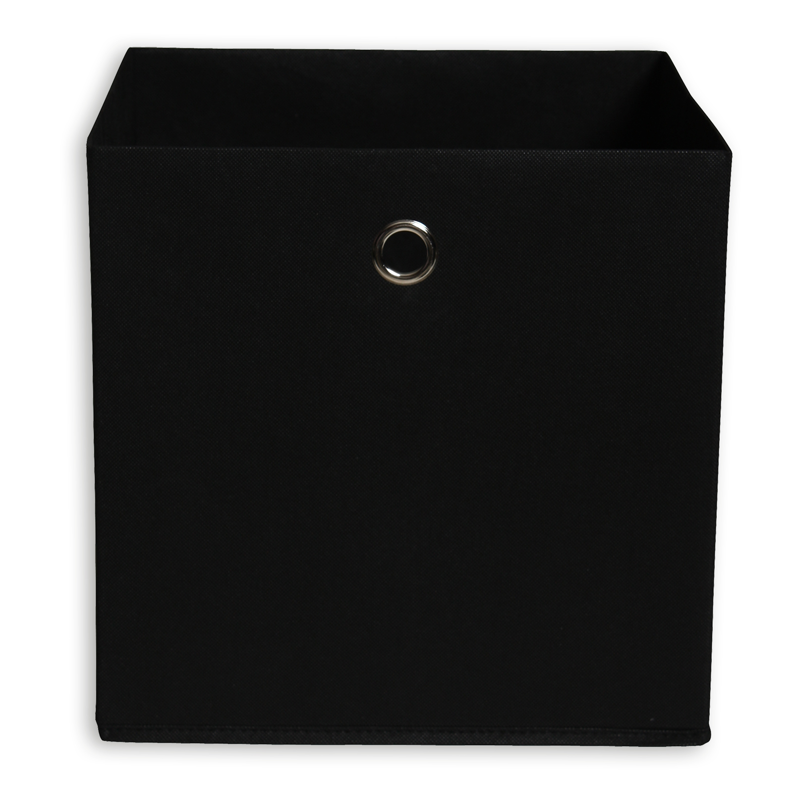 Faltbox Schwarz Mit Metallöse 32x32 Cm
