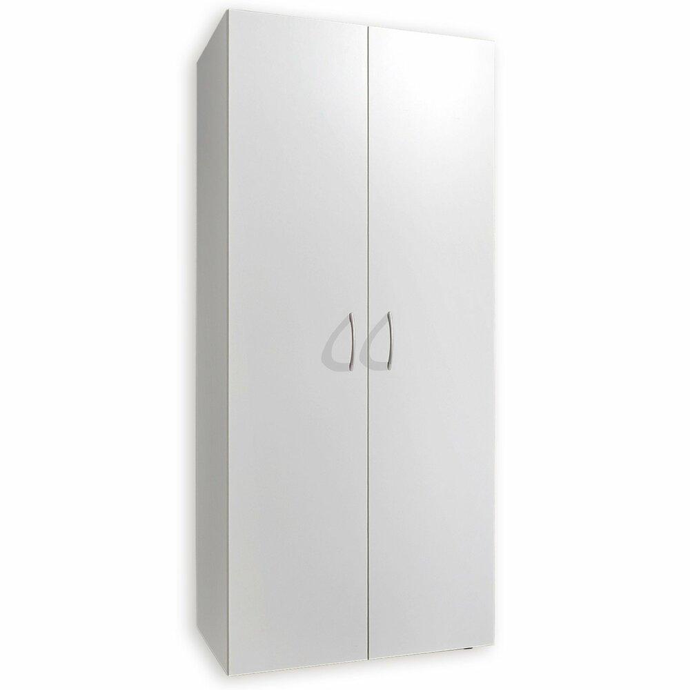 kleiderschrank multi alpinwei 80x185 cm dreht renschr nke kleiderschr nke schr nke. Black Bedroom Furniture Sets. Home Design Ideas
