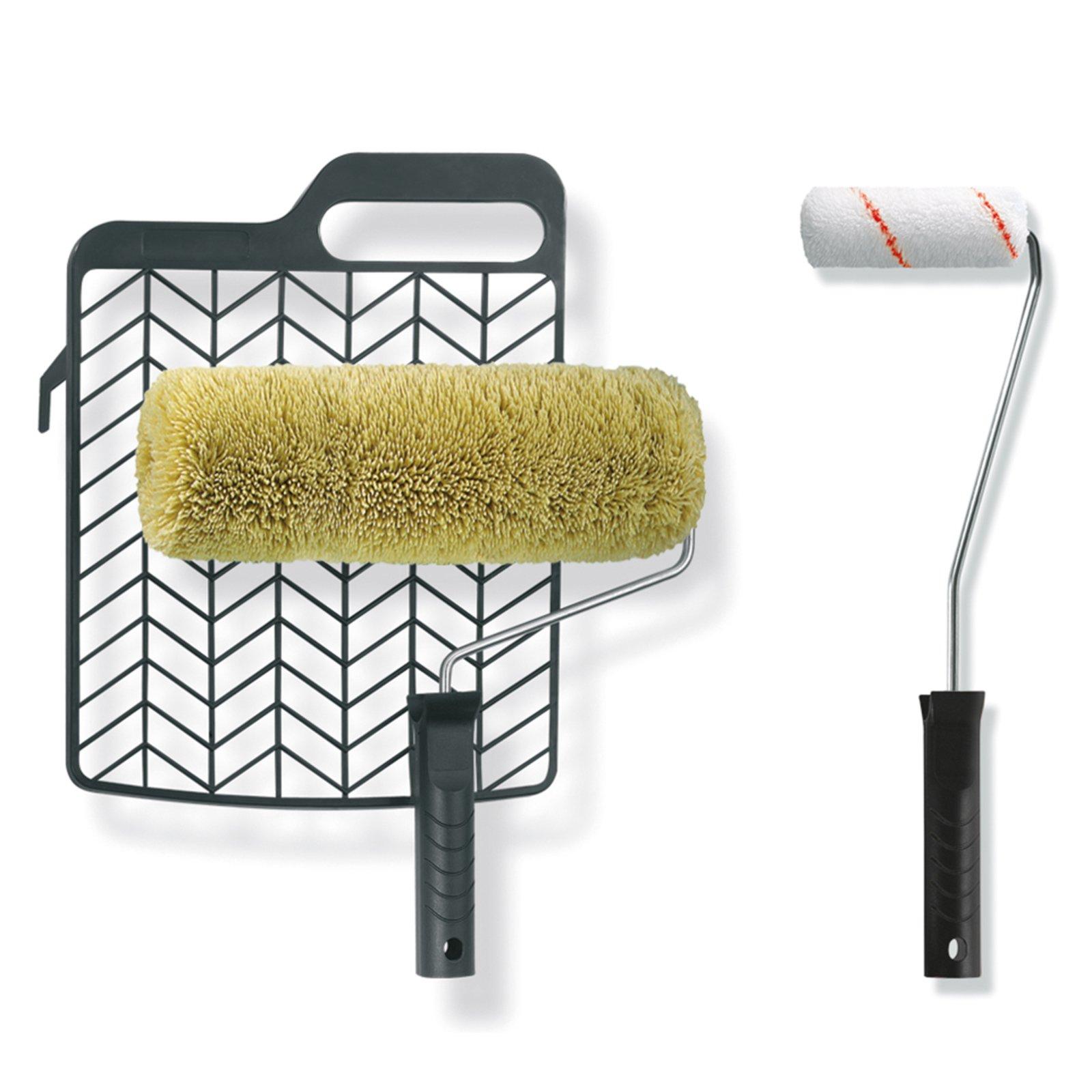 5 teiliges heimwerker set farbrollen pinsel. Black Bedroom Furniture Sets. Home Design Ideas