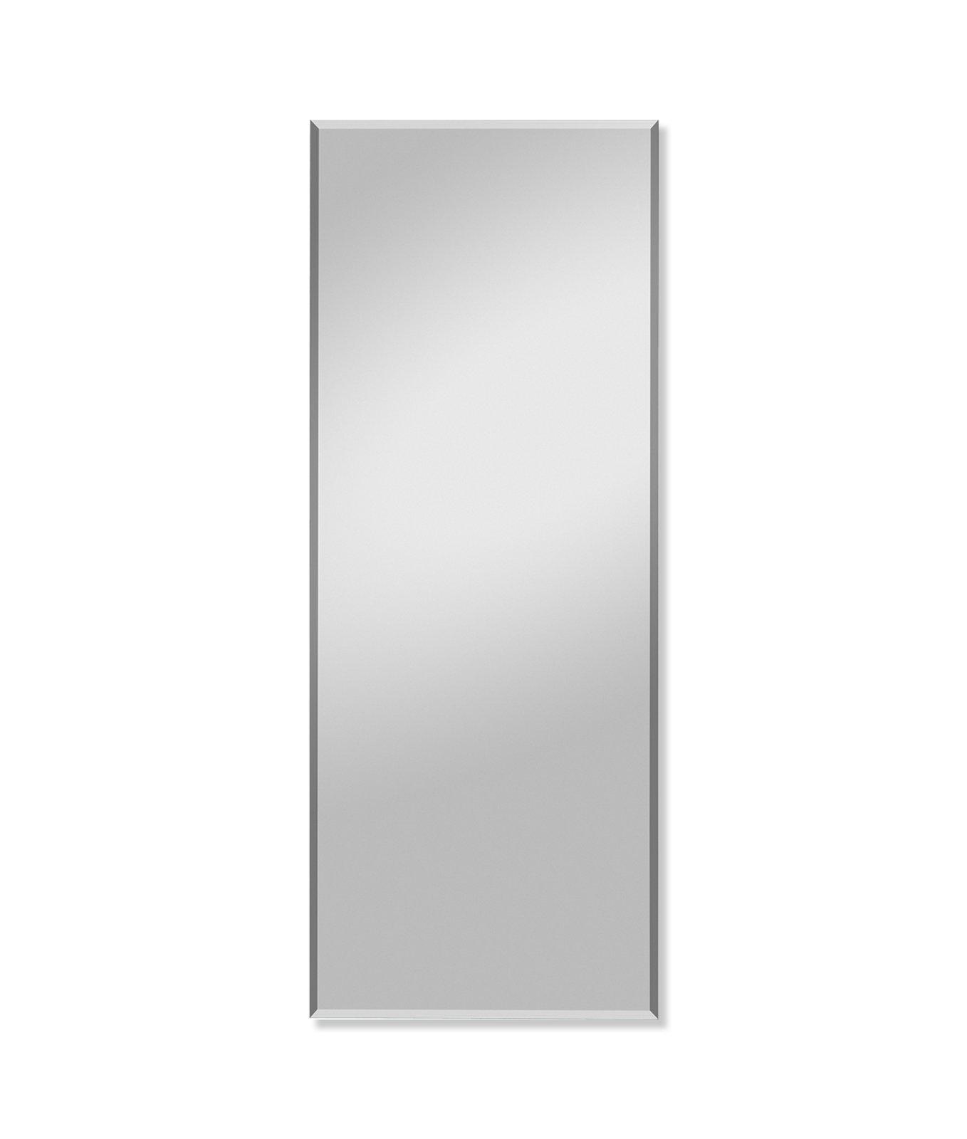 spiegel max mit facettenschliff 49x126 cm wandspiegel spiegel deko haushalt roller. Black Bedroom Furniture Sets. Home Design Ideas