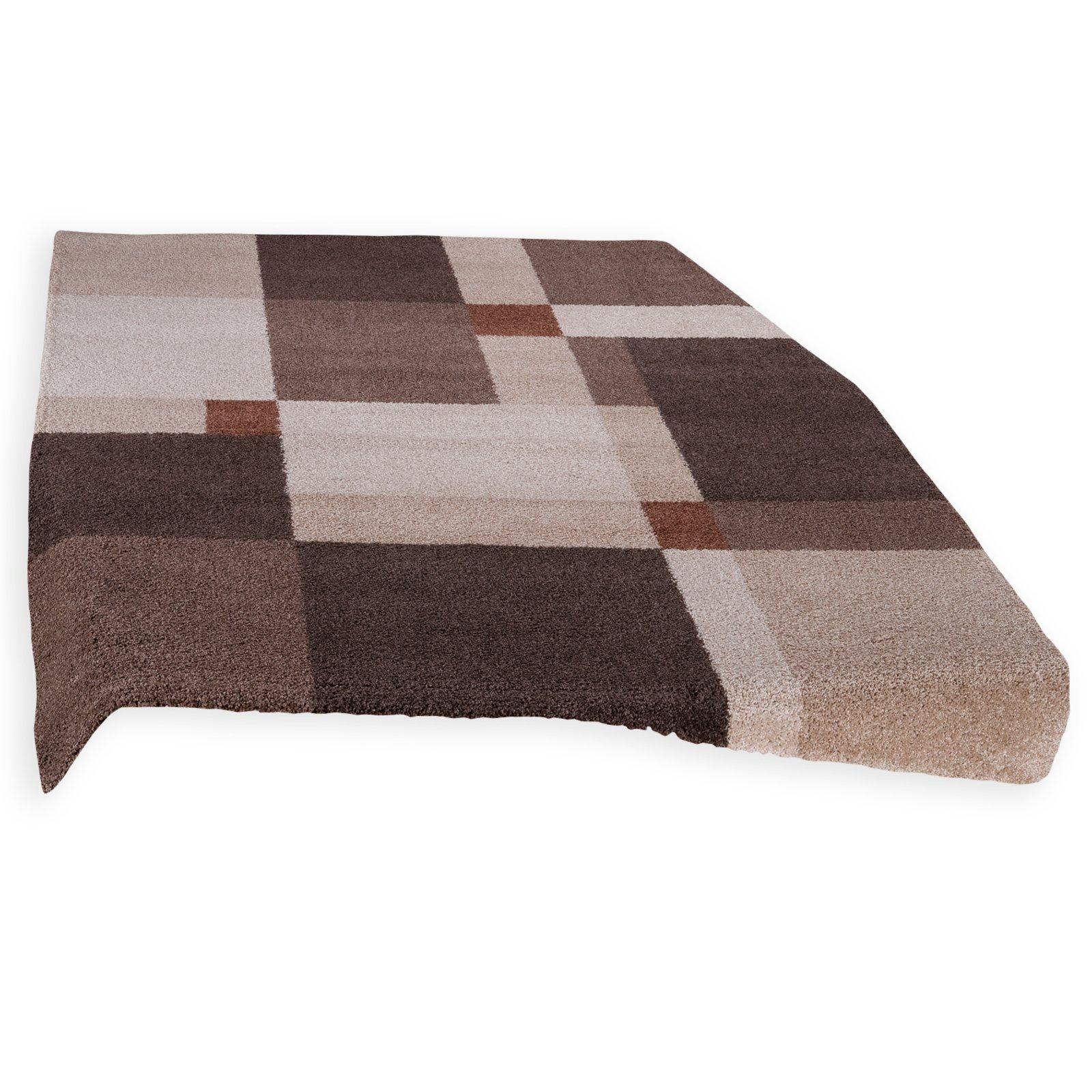 teppich reggae beige braun 200x290 cm gemusterte. Black Bedroom Furniture Sets. Home Design Ideas