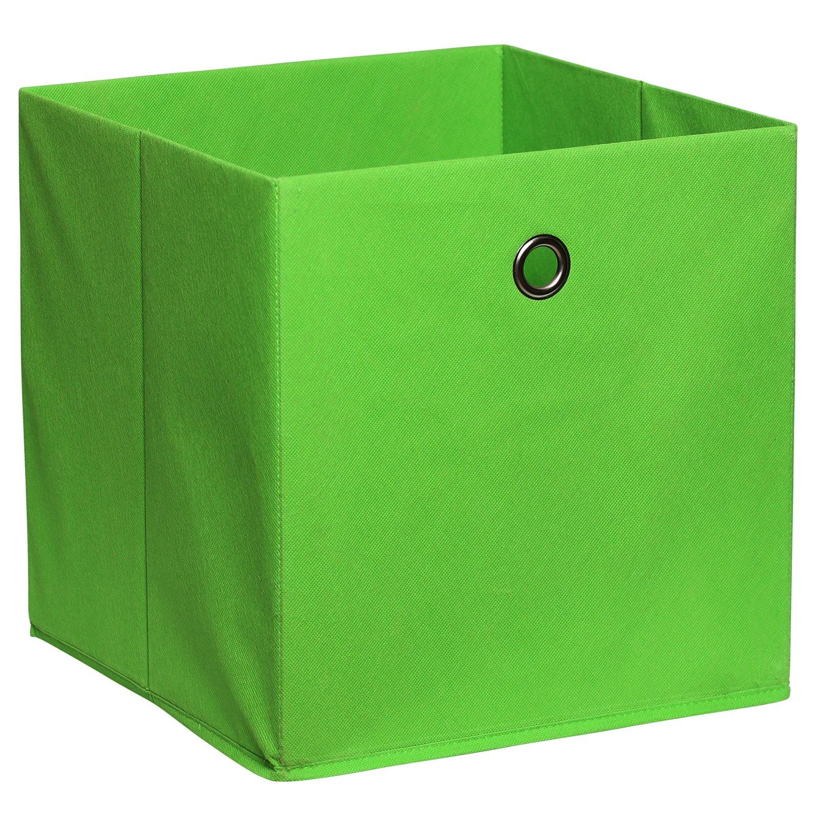 Faltbox - lemon - mit Metallöse - 32x32 cm