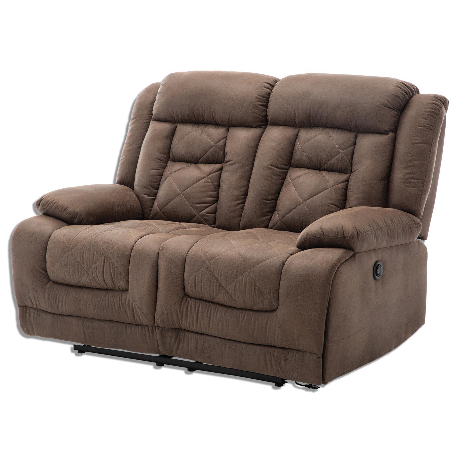 2-Sitzer Sofa - Vintage braun - Kunstleder   Online bei ...