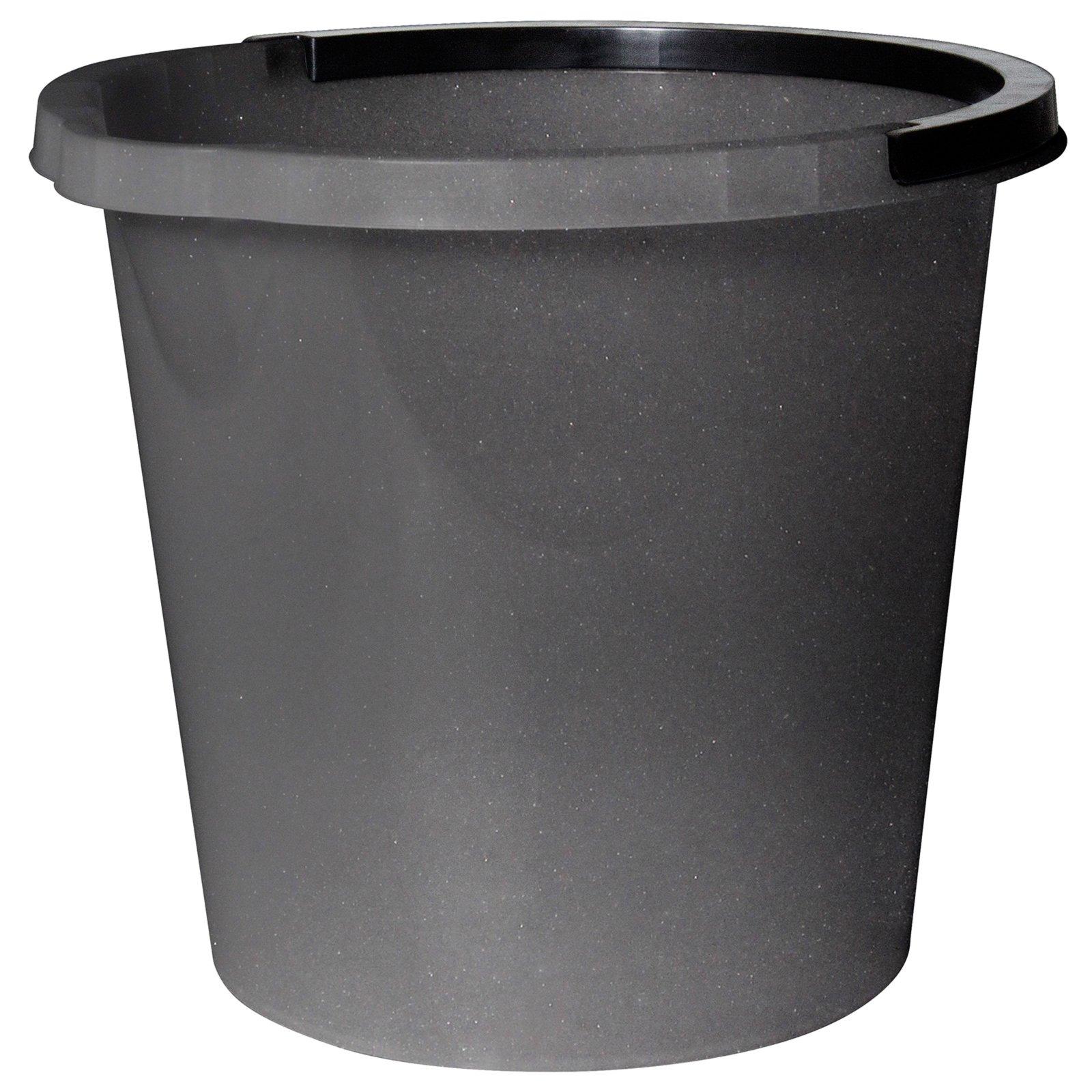 eimer mit ausgusslippe silber 10 liter mop bodenwischer reinigen hauswirtschaft. Black Bedroom Furniture Sets. Home Design Ideas