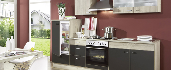 Küchenzeile roller  Küche JOLINA | Schrankserien | Küchenschränke | Möbel | Möbelhaus ...