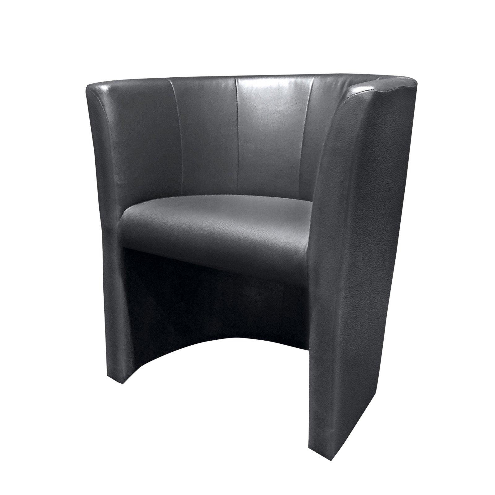 cocktailsessel schwarz kunstleder cocktailsessel sessel hocker m bel roller m belhaus. Black Bedroom Furniture Sets. Home Design Ideas