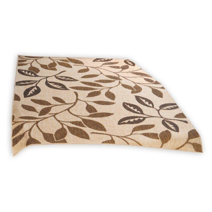 in outdoorteppich oslo braun 160x230 cm gemusterte teppiche teppiche l ufer deko. Black Bedroom Furniture Sets. Home Design Ideas