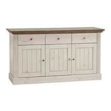 Sideboard MONACO - white wash stone - Kiefer massiv