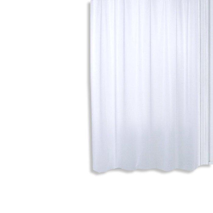 Duschvorhang PLAIN - weiß - 180x200 cm