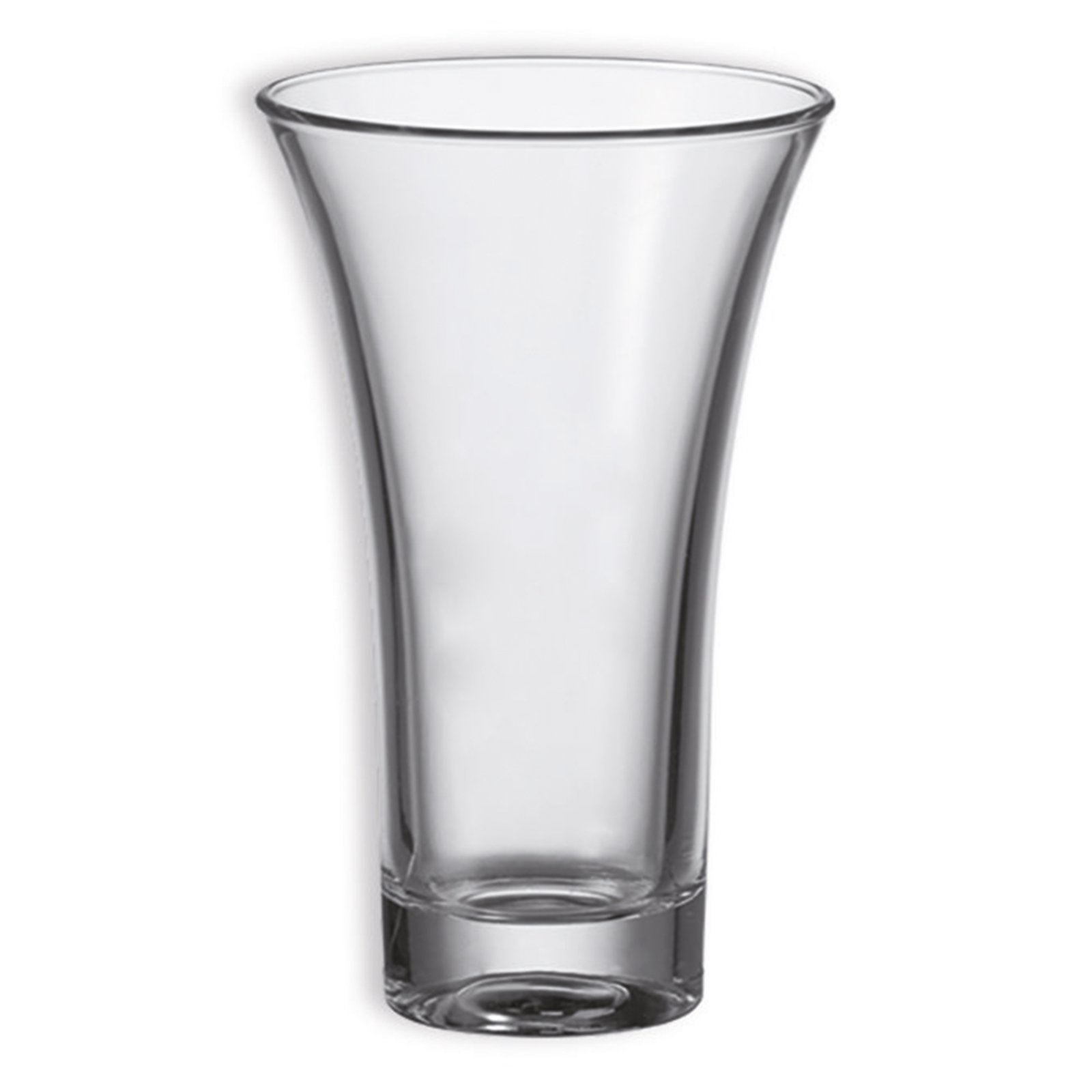 Vase FIORI GRANDE - klar - Glas - 20 cm hoch