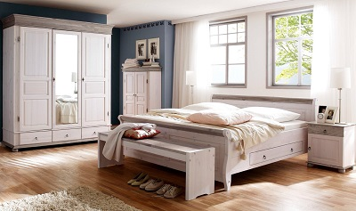 Schlafzimmer Landhaus