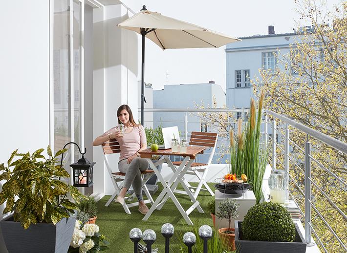 urlaub auf balkonien garten roller m belhaus. Black Bedroom Furniture Sets. Home Design Ideas