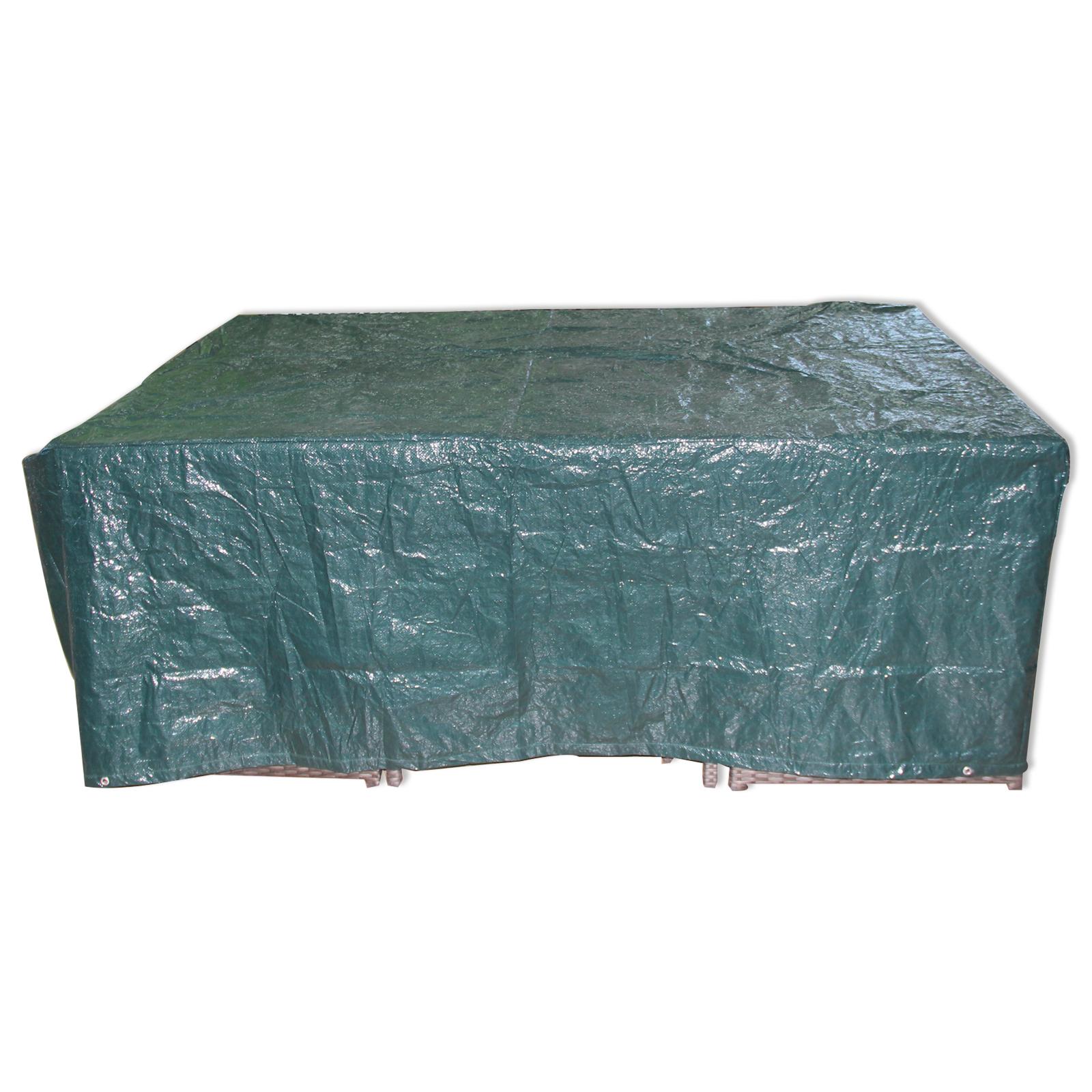 Gartenmöbel Abdeckung.Gardiola Gartenmöbel Abdeckung Grün Kunststoff 205 Cm Breit