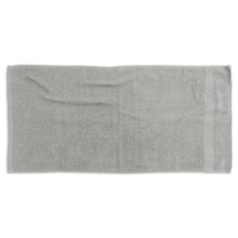 Frottier-Handtuch SOFT FINISH - silber - 50x100 cm