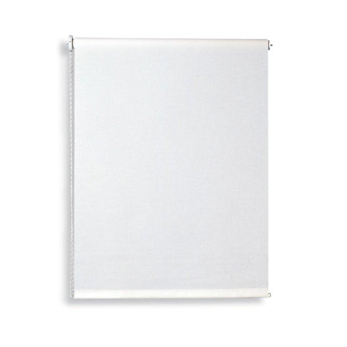 verdunklungsrollo wei 100x180 cm verdunklungsrollos rollos jalousien deko. Black Bedroom Furniture Sets. Home Design Ideas