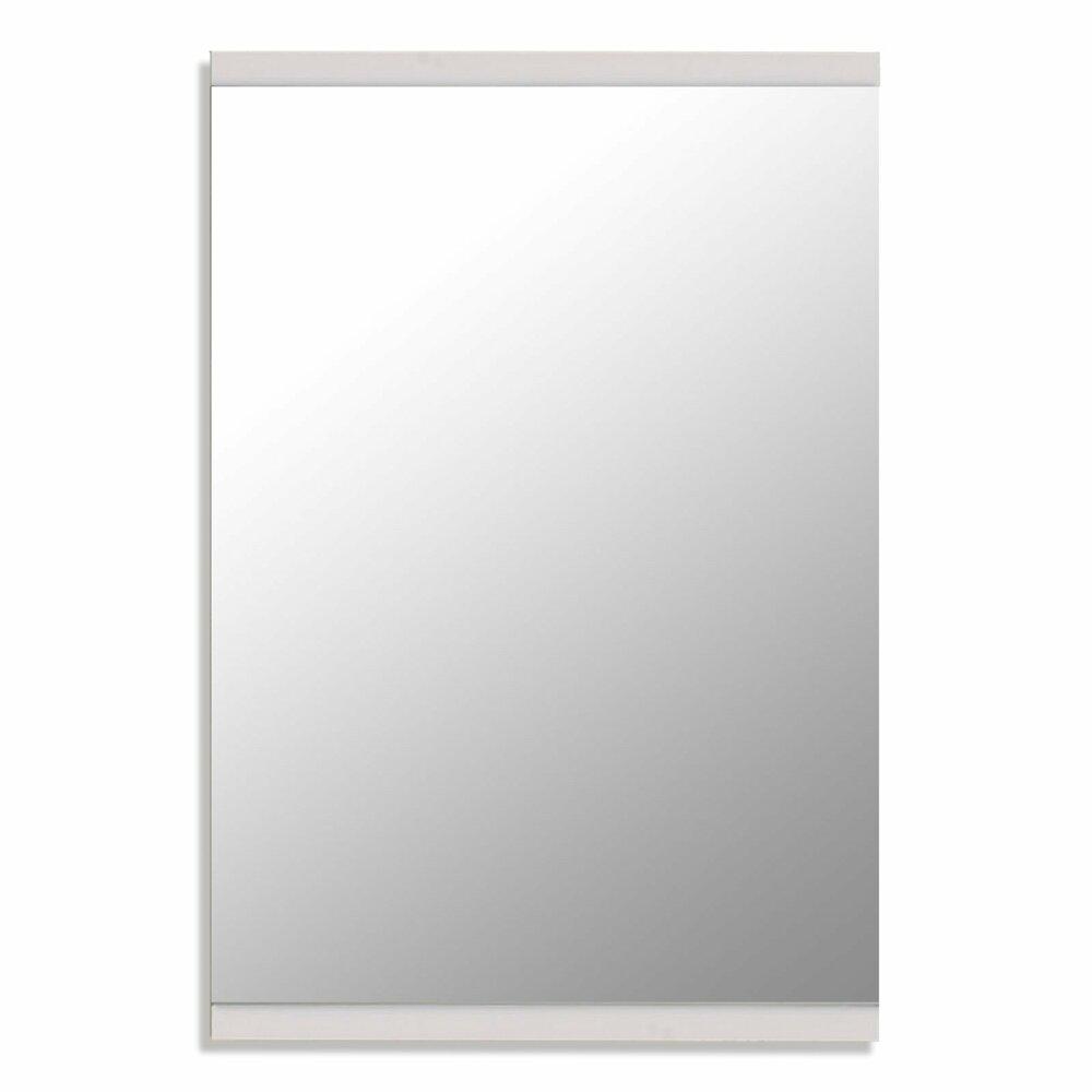 spiegel derby wei hochglanz 54x80 cm wandspiegel spiegel deko haushalt m belhaus. Black Bedroom Furniture Sets. Home Design Ideas